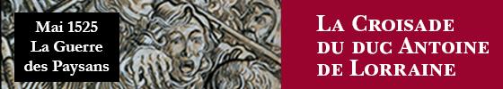 La croisade du duc Antoine de Lorraine contre les paysans révoltés d'Alsace, 1525_SURDEL