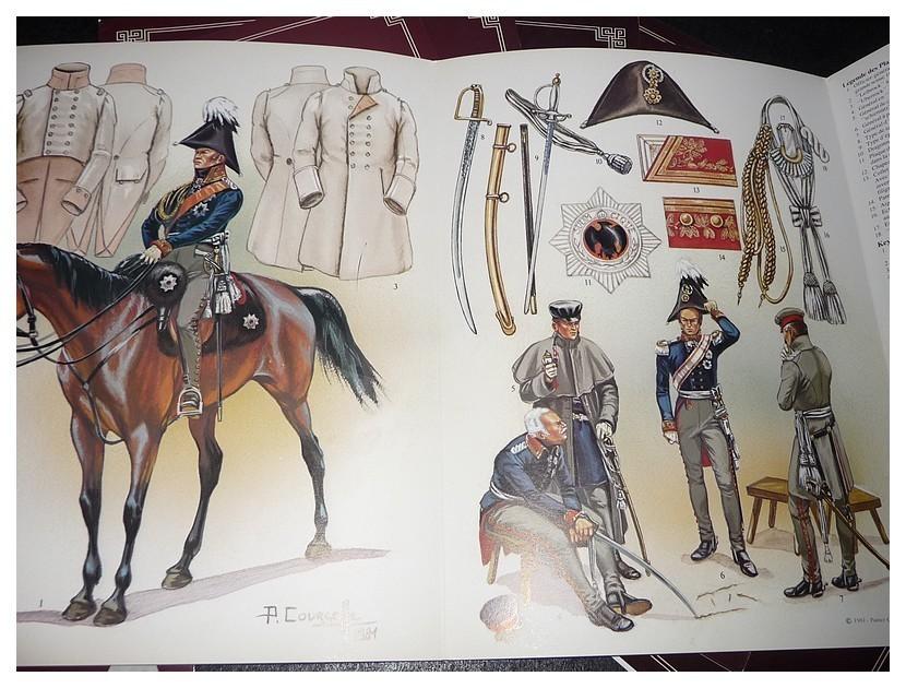 Ceux qui bravaient l'Aigle : Planche 2 : Armée Prussienne n°1