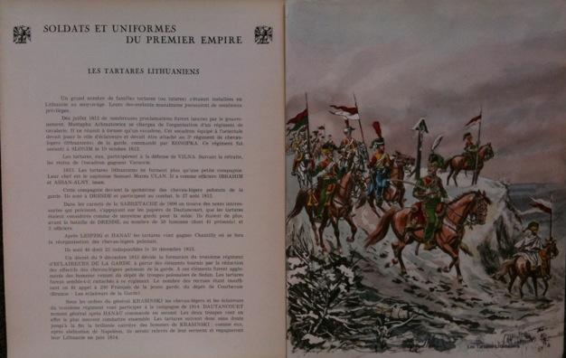 Soldats et uniformes du premier Empire, planche 8