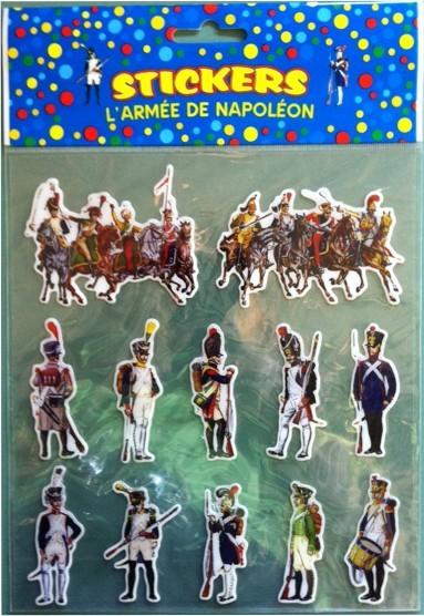 L'Armée de Napoléon (stickers)