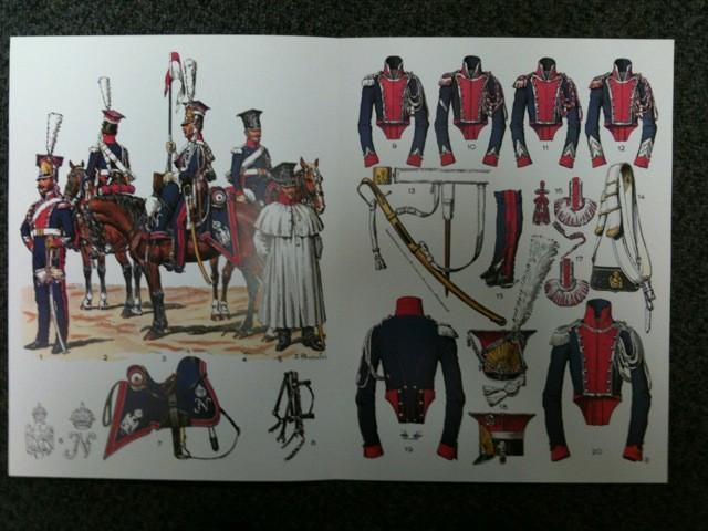 Rousselot n° 47 : Chevau-léger polonais de la Garde (I) 1807-1814