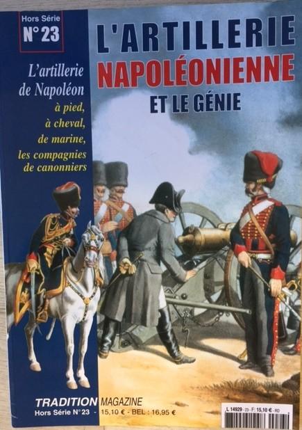 HS n°23 : L'artillerie Napoléonienne et le génie