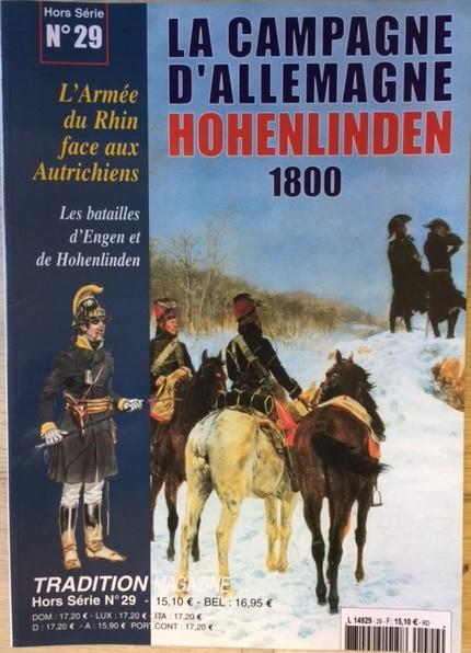 HS n°29 : La campagne d'Allemagne - Hohenlinden