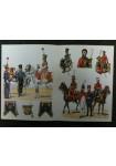 Rousselot n° 88 : 2e Régt de chevau-légers de la garde, trompettes et officiers 1810-1815