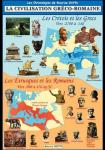 La civilisation Gréco-romaine : Les Crétois et les Grecs vers -2700 à -146