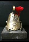 Figurine : Casque de sapeur bronze
