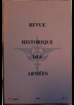 Revue Historique des Armées, 1974, n° 4