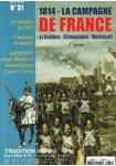HS n°31 : 1814 - La campagne de France La Rothière - Champaubert - Montmirail